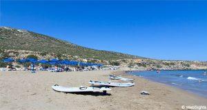 Prasonisi strand Rhodos