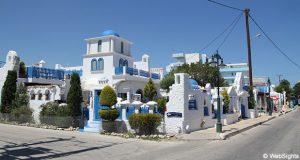 Ialyssos grekisk byggnad
