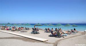 Ialyssos strand